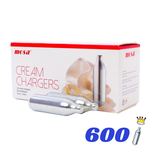 600 CREAM KINGS CREAM CHARGERS